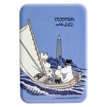 Colored Moomins and a lighthouse, Oursea Magnet