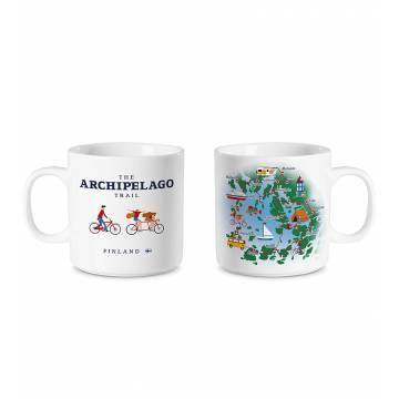 White DC Archipelago Trail Mug
