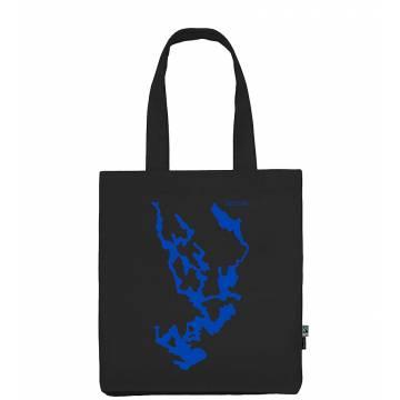Black DC Saimaa Cotton bag