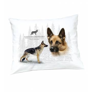 DC German Shephard Pillow case