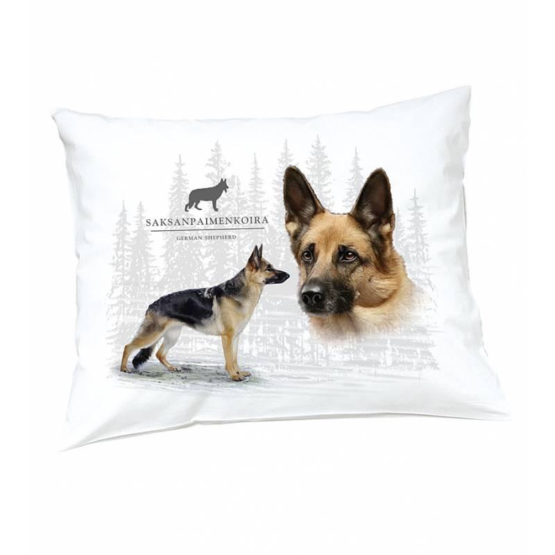 DC German Shephard Pillow case
