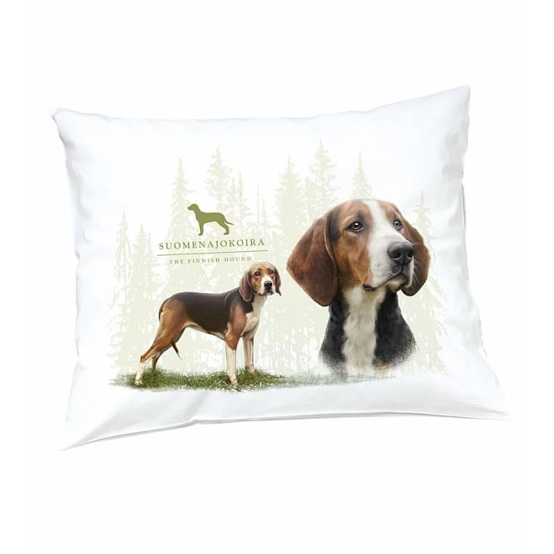 DC Finnish hound Pillow case