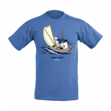 Retro Royal Heaher Moomins at sea, OurSea Kids T-shirt