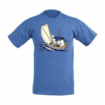 Meleerattu retro royal Muumit merellä, OurSea Lasten T-paita