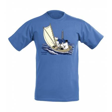 Retro Royal Heaher Moomins at sea, OurSea Kids T-shirt