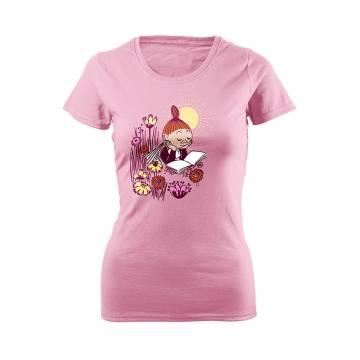 Mymmeli lukee Tyttöjen T-paita