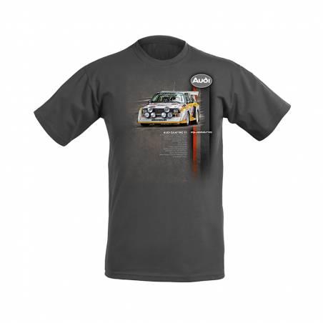 Audi Quattro S1 kids T-shirt light graphite