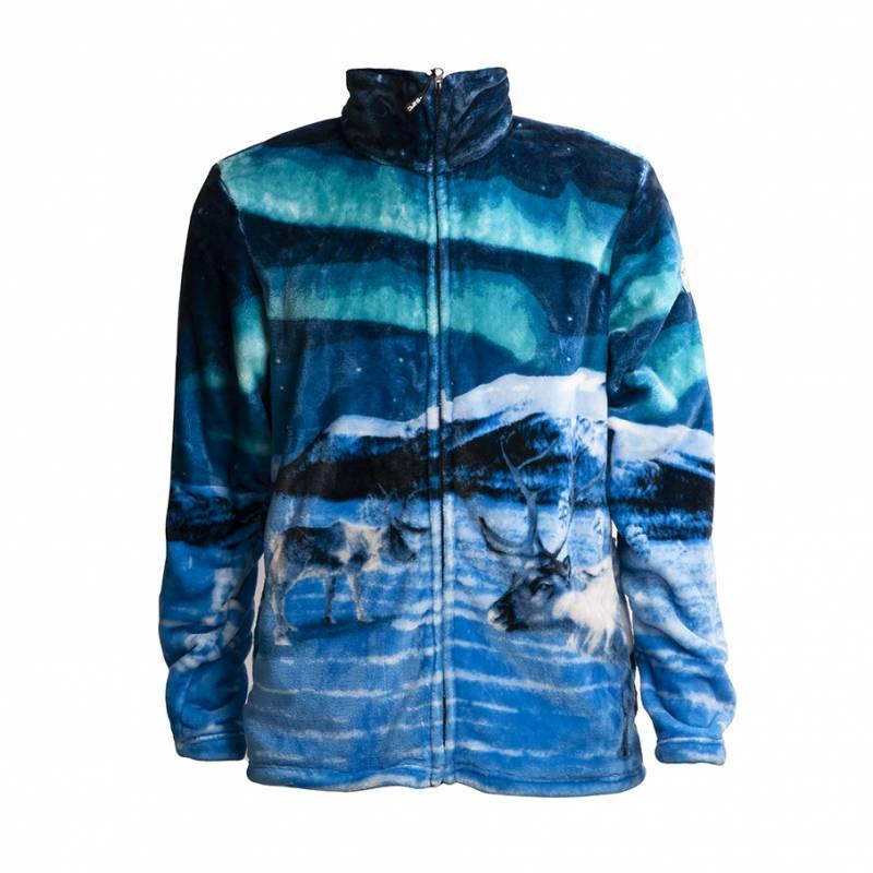 Monivärinen Pokka REINDEER Flannel fleece