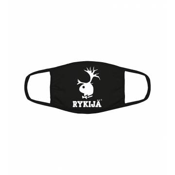 Black Rykijä Face Mask