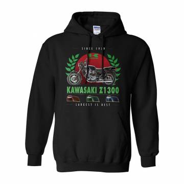 Black Kawasaki Z1300 Hoodie