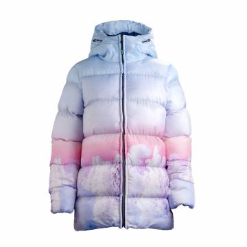 Multicolored Pokka WINTER ladies padded jacket