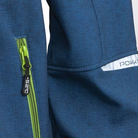 Tummansininen Pokka RIUTULA miesten softshell takki