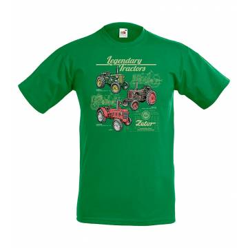 Kelly Green Legendary Zetor T-shirt