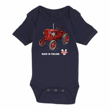 Tummansininen Valmet 1952 Body vauvojen