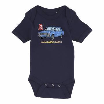 Tummansininen DC Lada laatua Body Vauvojen