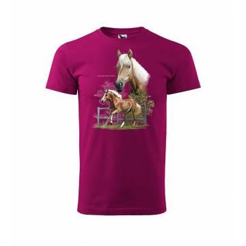 Fuchsia DC Finnhorse T-shirt