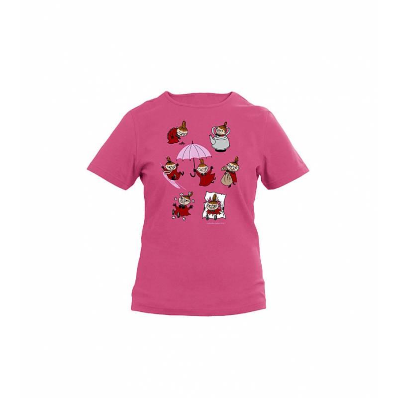 Meleerattu violetti Fotl Pikku Myy puuhailee Tyttöjen T-paita