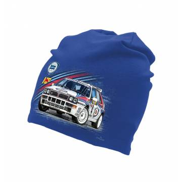 Royal Blue Lancia Delta Integrale tricot beanie