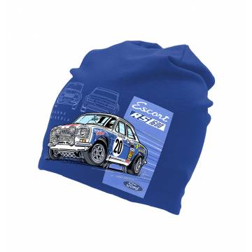Royal Blue Ford Escort RS 1600  tricot beanie