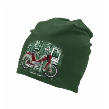 Bottle Green Pappa Tunturi  tricot beanie