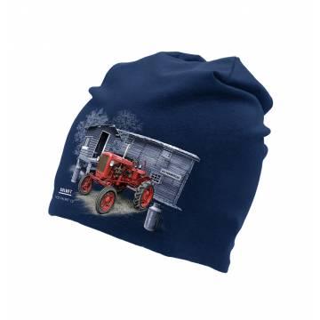 Navy Blue Valmet  tricot beanie