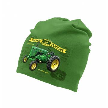Kelly Green John Deere tricot beanie