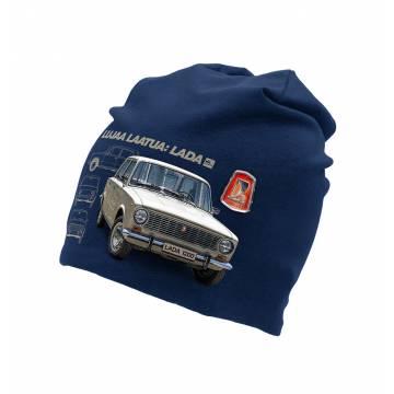 Navy Blue Lada tricot beanie