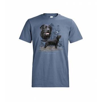 Denim DC Black Labrador Retriever T-shirt