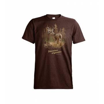 Brown DC Valkohäntäpeura T-paita