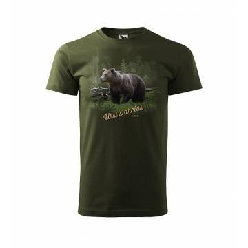Forest Green Karhu & Kelo T-paita