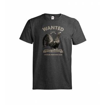 Dark melange gray DC Wanted Metso T-paita