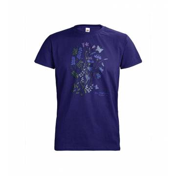 Cobalt blue DC Kellokukat T-paita