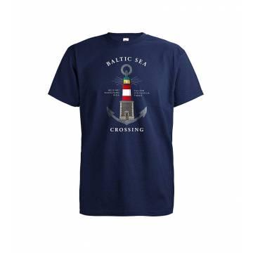 Deep Navy DC Baltic Sea Lighthouse T-shirt