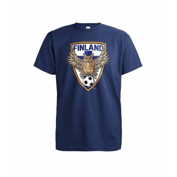 Navy Blue DC Football Owl T-shirt