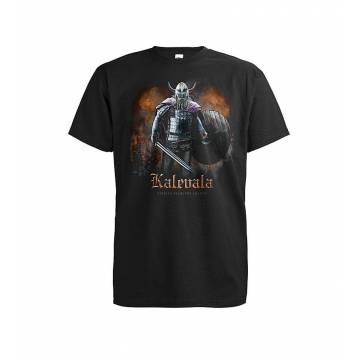 Black DC Kalevala Legend T-shirt