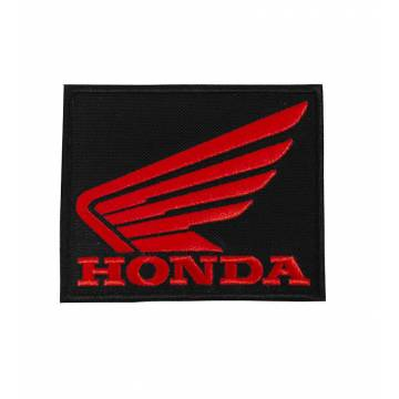 Musta Honda Kangasmerkki 75x62 mm