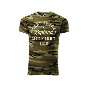 Ruskea Camouflage DC Midnight Sun LAP Camo T-paita