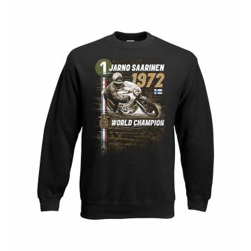 Black Jarno Saarinen 1972 Sweatshirt
