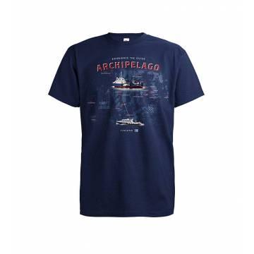 Deep Navy DC Saaristoreitti Hiittinen T-paita