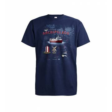 Deep Navy DC Saaristoreitti Nauvo-Korppoo T-paita