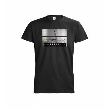 Black DC Man/Woman säätimet T-paita