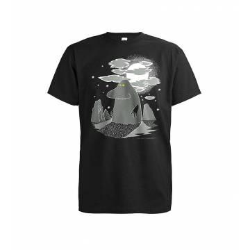 Musta DC Mörkö T-paita