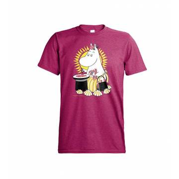 Antique Heliconia DC Moominmamma and berries T-shirt