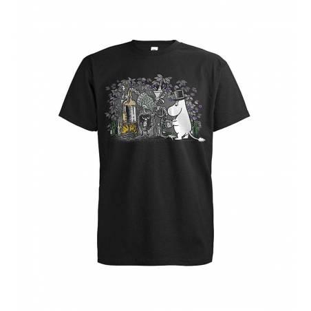 Musta DC Manhattan Dynamite T-paita