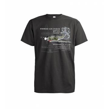 Light Graphite Messerschmitt BF-109 T-shirt