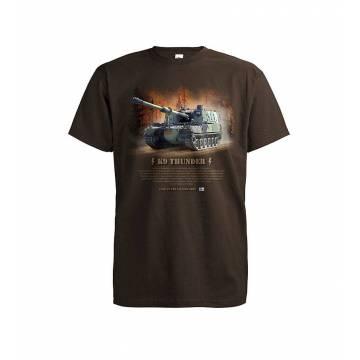 Suklaanruskea DC K9 Thunder Panssari T-paita