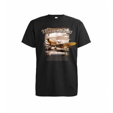 Musta DC Messerschmitt kentällä T-paita