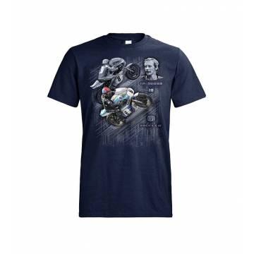 Navy Blue Teuvo Länsivuori RR Legend T-shirt