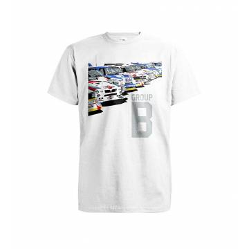 White DC Group B Art T-shirt