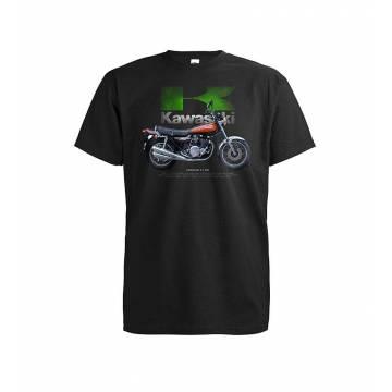 Black DC Kawasaki Z1 900 T-shirt